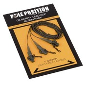 Strategy Pole Position CS Safety Lead Clip Action Pack 65LB Weed