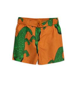 Mini Rodini Swimshort Crocco brown