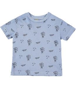 Bonmot T-shirt TEE PRINT ALL OVER MONSIEUR POSITIF