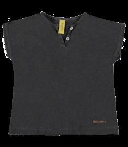 Bonmot Henley T-shirt Grey Night