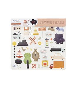 OlliElla Playpa Sticker - Road