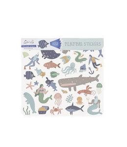 OlliElla Playpa Sticker - Ocean
