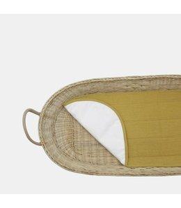 OlliElla Luxe Organic Cotton Liner - Mustard