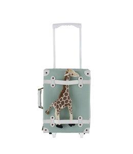 OlliElla See-Ya Suitcase - Mint