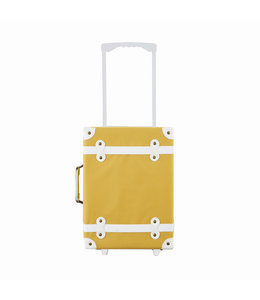 OlliElla See-ya Suitcase - Mustard