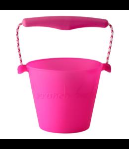 Scrunch Bucket - Bright Pink