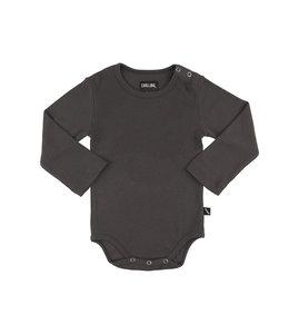 CarlijnQ Basics - Bodysuit - Grey rib
