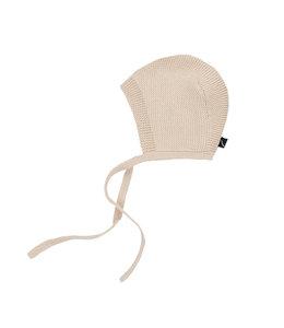 CarlijnQ Knit basics - bonnet (cream)