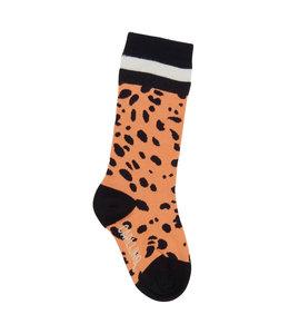 CarlijnQ Spotted animal - knee socks (pink)