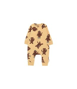 "Tiny Cottons ""CATS"" ONE-PIECE  sand/brown"