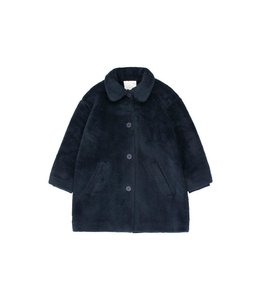 Tiny Cottons FAUX FUR COAT  true navy