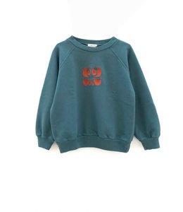 LongLiveTheQueen Raglan sweater Dark green