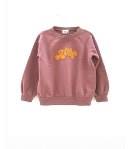 LongLiveTheQueen Raglan Sweater Old Pink