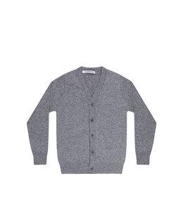 Mingo Cashmere cardigan Grey