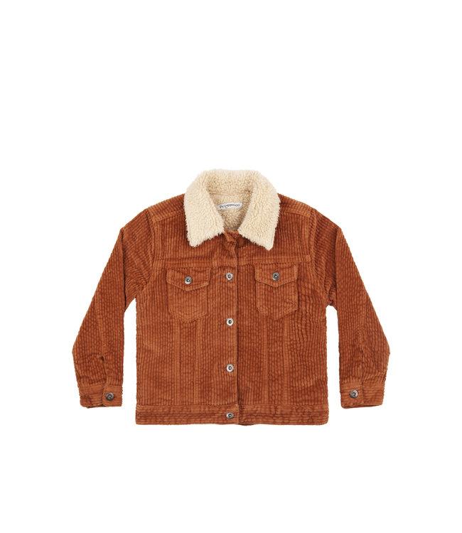 Mingo Oversized jacket Brown