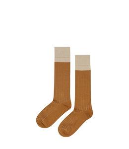Mingo Knee socks Sand-Sudan