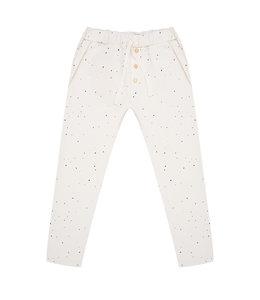 Little Indians Ruffle Pants Dots Ecru