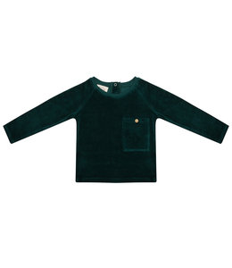 Little Indians Sweater Pine Trees Green
