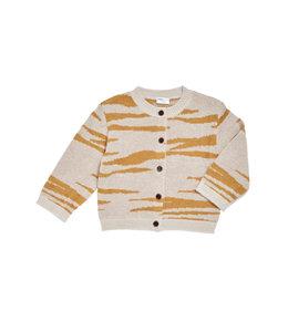 Maed for Mini Tipsy Tiger Knit Cardigan