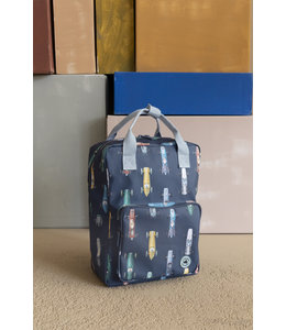 Studio Ditte Backpack Large Race Cars
