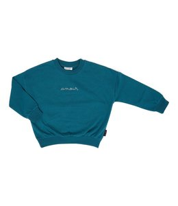 Daily Brat Amour sweater petrol green