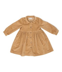 Daily Brat Brooke corduroy dress camel