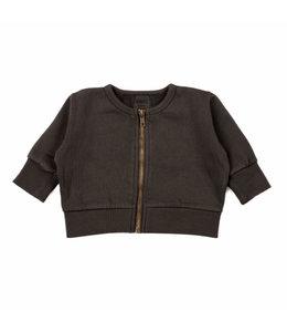 Kidwild Vintage zip sweater slate