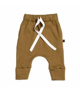 Kidwild Drawstring pants Curry