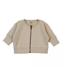 Kidwild Vintage zip sweater Oatmeal