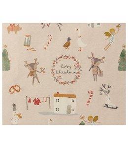Maileg Giftwrap, Cosy Christmas - 10 m