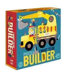 Londji Puzzle - I want to be - Builder
