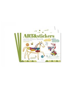Londji Activities book - Art&Stickers