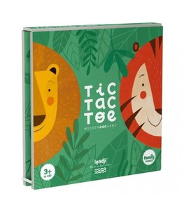 Londji Tic Tac Toe 'Lion and Tiger'