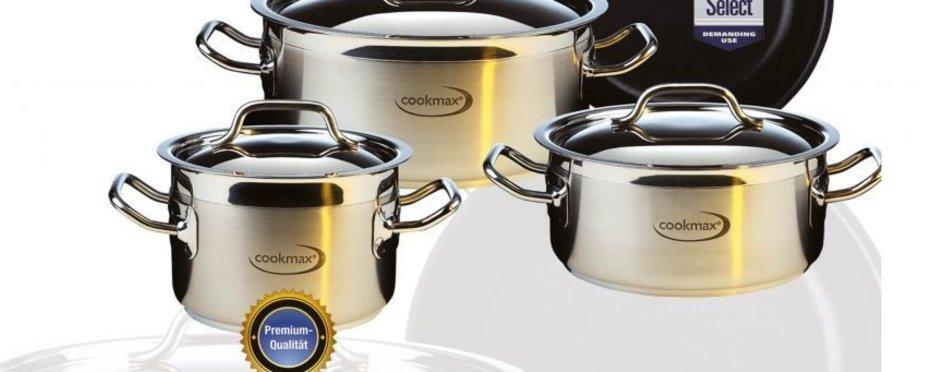 Die besondere Kochgeschirrserie für den Profi-Koch
