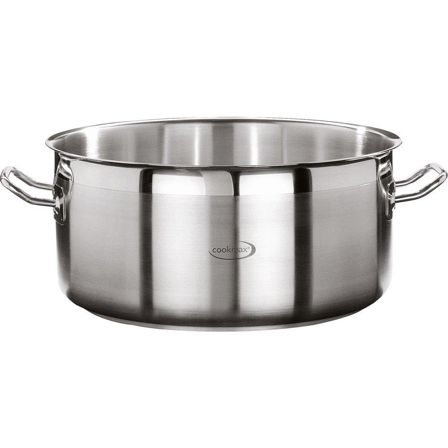 "Bratentopf flach ""Cookmax Professional"" Ø 40 cm, H: 19 cm. Inhalt 32,9L"