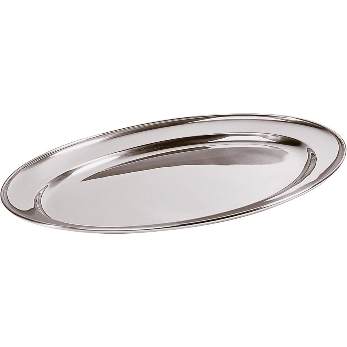 Bratenplatte/Servierplatte oval 25x18cm