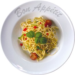 """Pastateller """"Bon Appetit"""", Ø 23,0 cm, rund"""