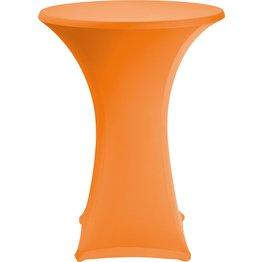 Stehtischbezug Ø 70 cm orange