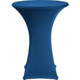 Stehtischbezug, 2-tlg-Set Ø 80 cm marineblau