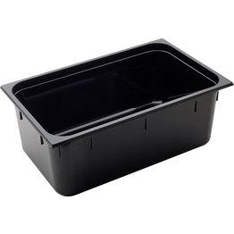 GN Behälter 1/1 Polycarbonat schwarz T: 200mm, 30L - NEU
