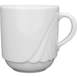 """Hotelporzellan """"Ambiente"""" Tasse Obere Kaffee 0,26 L"""