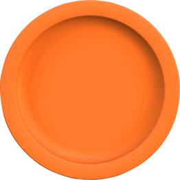 "Teller flach ""Colour"" Ø24,1cm PBT orange"