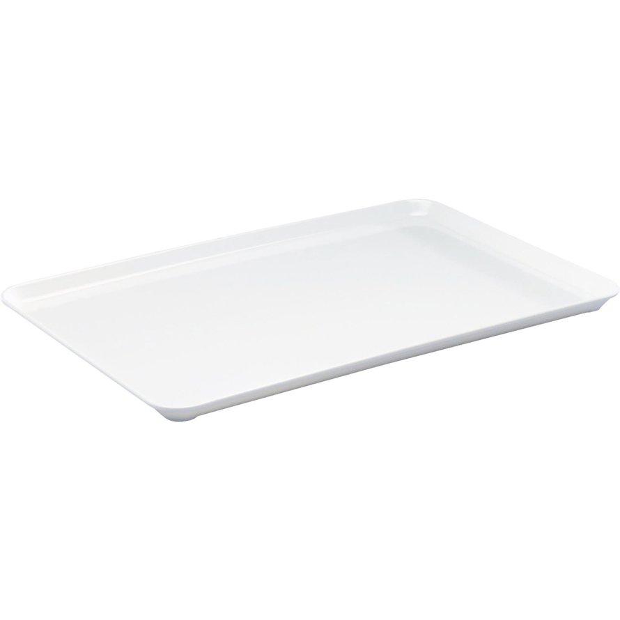 Auslageplatte Melamin, weiß
