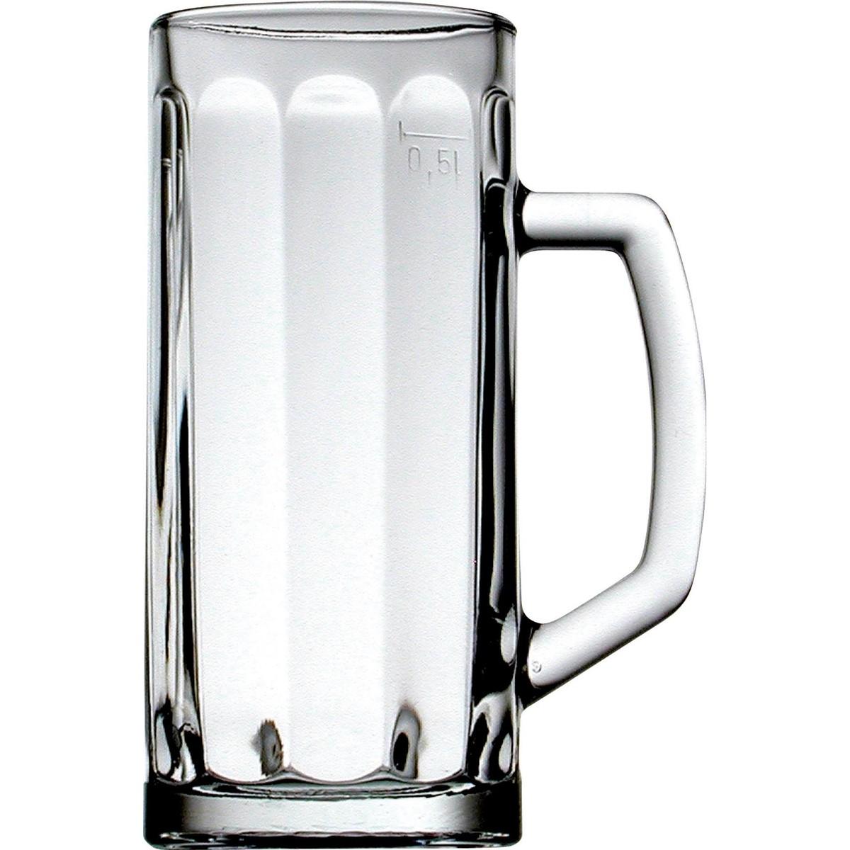 """Bierkrug """"Bern"""" 0,4 L mit Füllstrich"""