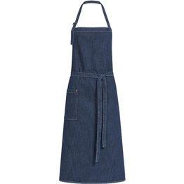 """Latzschürze Denim """"Jeans"""" blue denim Herren/ Unisex - NEU"""