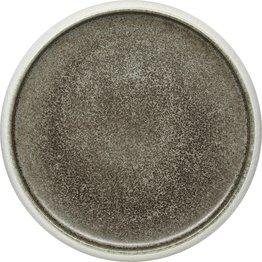 "Porzellan Serie ""Samoa"" grau Teller flach Ø26cm - NEU"