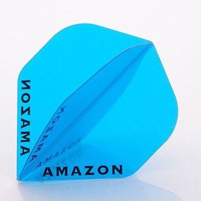 Piórka Amazon 100 Przezroczysty Blue
