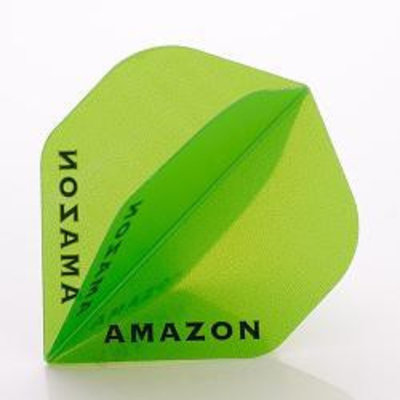 Piórka Amazon 100 Przezroczysty Green