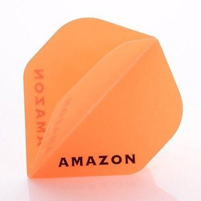 Piórka Amazon 100 Przezroczysty Orange