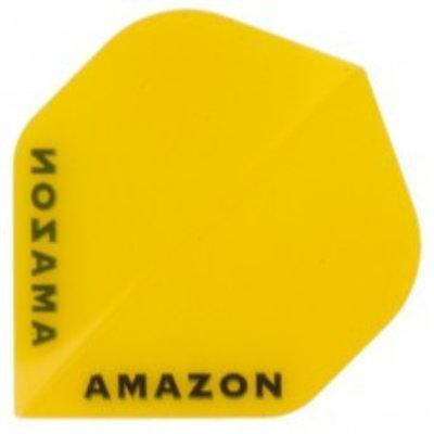 Piórka Amazon 100 Przezroczysty Yellow